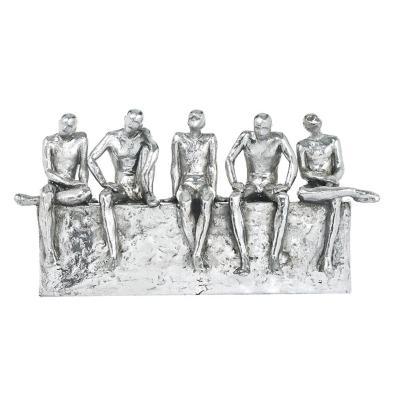 Figura Decorativa Equipo Silver