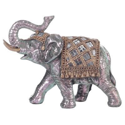 Figura Decorativa Elefante Agra