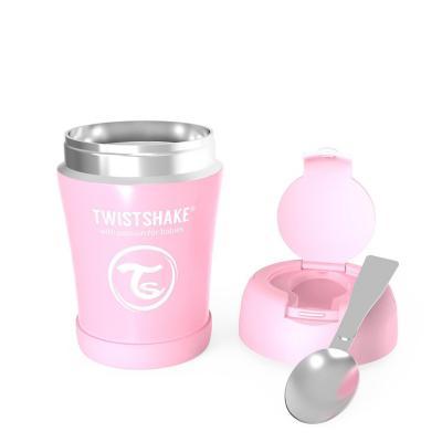 Termo comida bebe 350 ml Acero Inoxidable rosado