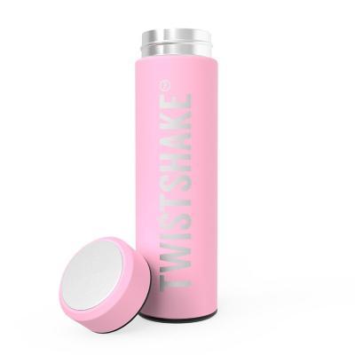 Termo agua Hot Cold 420 ml acero inoxidable rosado