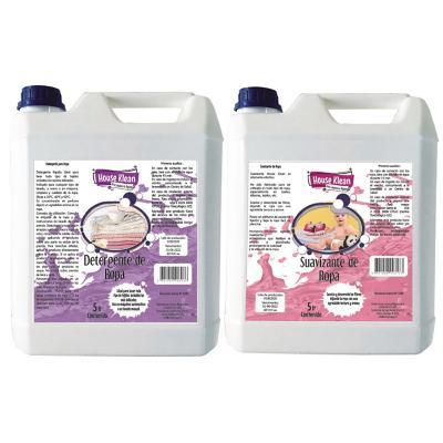 Ropa Limpia Detergente Ultra + Suavizante 5 litros