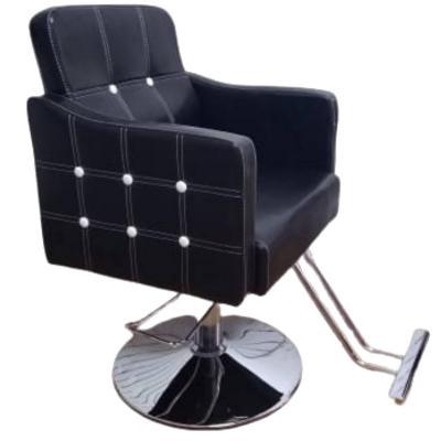 Silla Barbero 60x50x95 cm negra