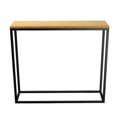 Mesa pasillo arrimo madera 90x85x25 cm