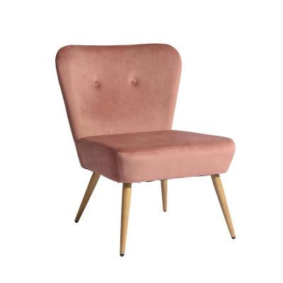 Sitial Lounge Acolchado 81x53x59 cm Rosa