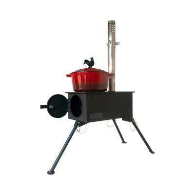 Cocina a Leña Outdoor Nomade