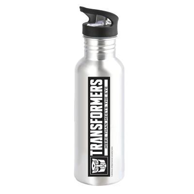 Botella aluminio 600 ml transformers