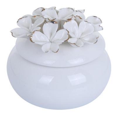 Joyero Decorativo Floral 10 cm