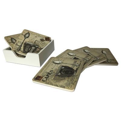 Portavasos Postal 7 piezas