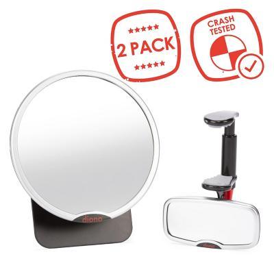 Pack Espejo Retrovisor y de Seguridad