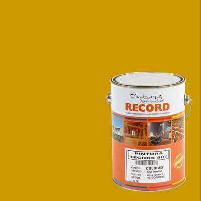 Pintura para techos 807 1 galón ocre