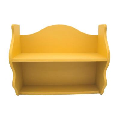 Repisa Rapallo 40x50x18 cm mdf amarillo