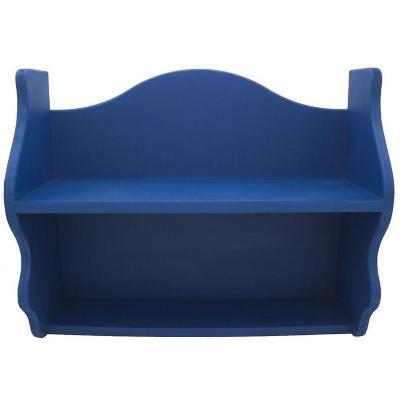 Repisa Rapallo 40x50x18 cm mdf azul
