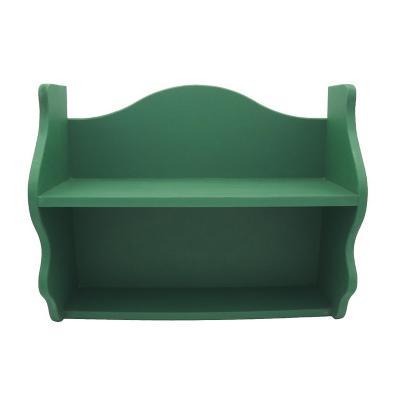 Repisa Rapallo 40x50x18 cm mdf verde