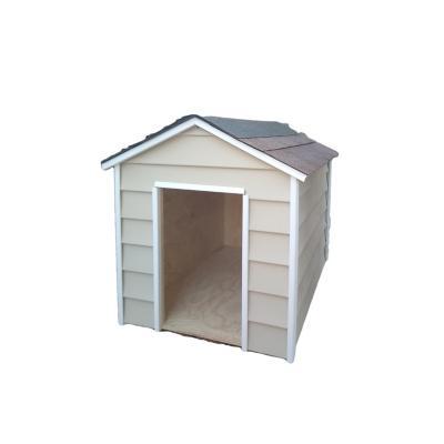 Casa para perro Grande 80x65x95 cm beige