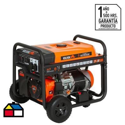 Generador monofásico a gasolina 5500 W