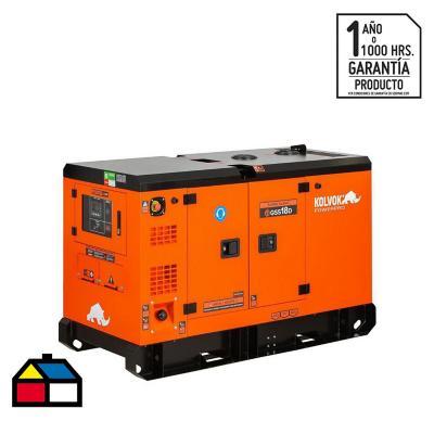 Generador eléctrico a diesel insonoro 17000 W