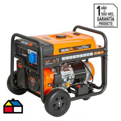 Generador monofásico a gasolina 6500 W