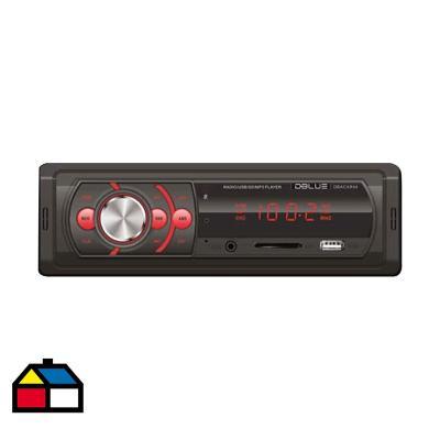 Radio para Automóvil MP3/USB/SD/AUX y Control