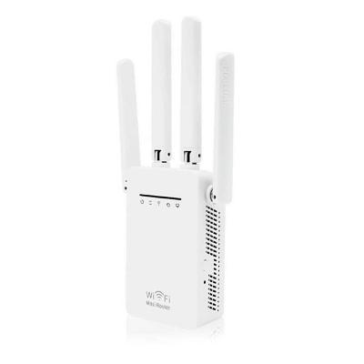 Amplificador Repetidor de Señal WIFI 4 Antenas