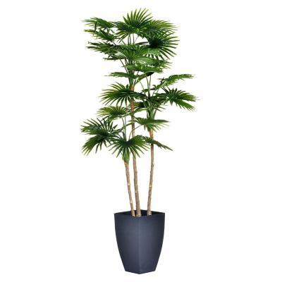Planta Decorativa Artificial Mini Fan Palm 105 Cms