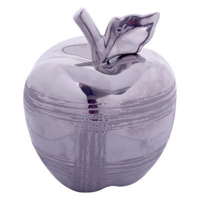 Figura Decorativa Manzana Veneto Silver