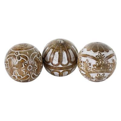Figura Decorativa Set de Bolas Maya 3 Piezas