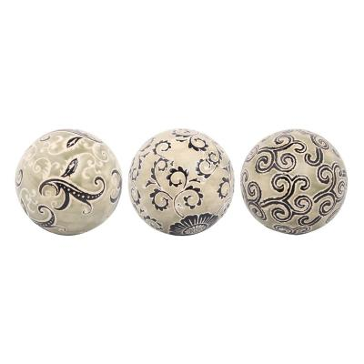 Figura Decorativa Set de Bolas Kenya 3 Piezas
