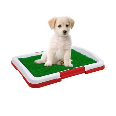 Baño alfombra ecológica para mascota rojo