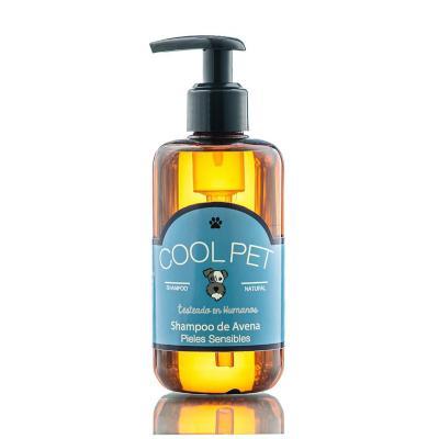 Shampoo de avena 250 ml para perros y gatos