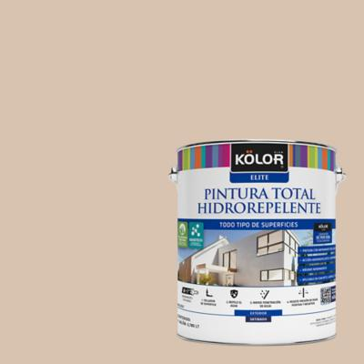 Esmalte al agua total hidrorrepelente satinado arena vigo 1 gl