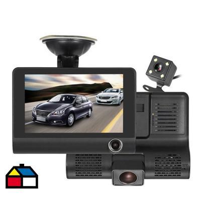 Cámara de Auto DVR HD /SD Negro