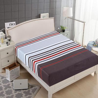 Juego de sábanas 2,5 plazas multicolor rayas