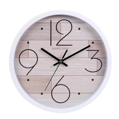 Reloj Mural Decorativo California 30x30 cm Café