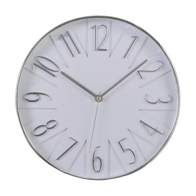 Reloj Mural Decorativo Dubai 31x31 cm Blanco