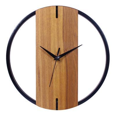 Reloj Mural Decorativo Quebec 30x30 cm Café