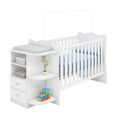 Cuna Bebé Blanca Multy Cajones 174x91,8x68 cm