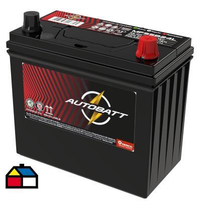 Bateria autobatt mf55b24l 45ah 400cca