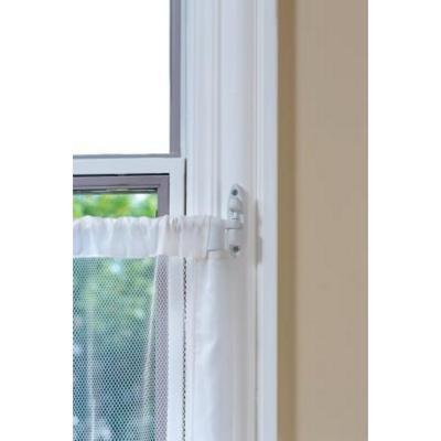 Malla de seguridad para ventanas blanca