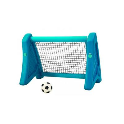 Arco de fútbol plástico 110x66x78 cm celeste