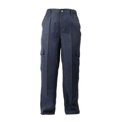 Pantalón Cargo Poplin Azul talla L