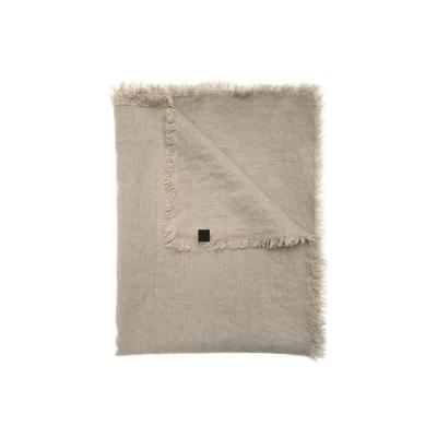 Chal sofía natural lino 130x170 cm beige