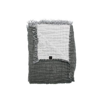 Chal maría lino 130x170 cm gris