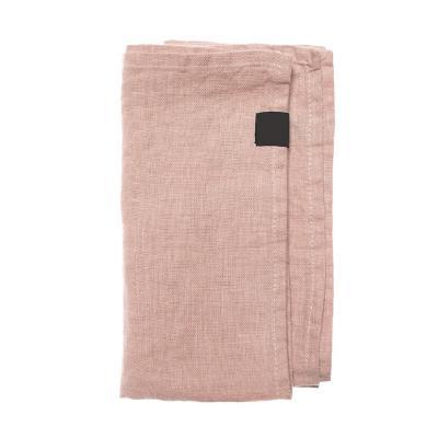 Set 4 servilleta 45x45 cm palo rosa