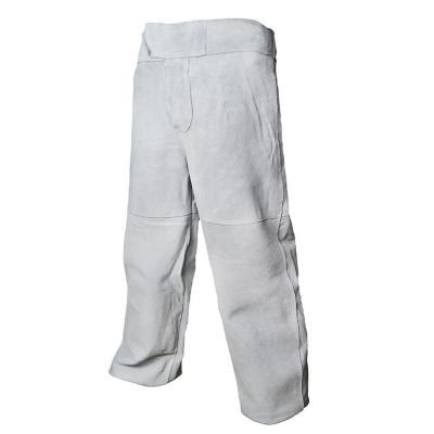 Pantalón soldador cuero talla M