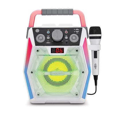 Equipo Karaoke Bluetooth Singing Machine Glow