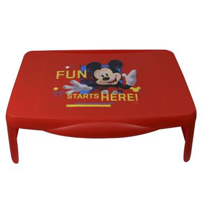 Bandeja escritorio portátil Mickey 33x46x19 cm roja