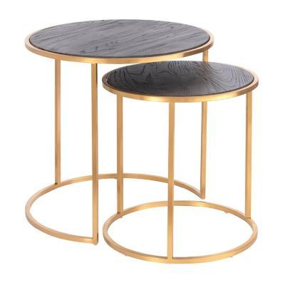 Set 2 mesas laterales Kain 60x60x60