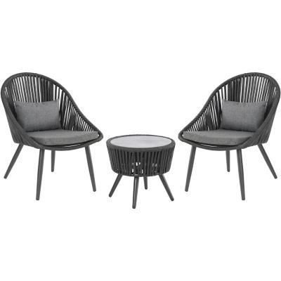 Set Terraza Camboriu 2 sillas y una mesa