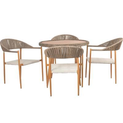 Set de terraza Florianapolis 1 mesa 4 sillas