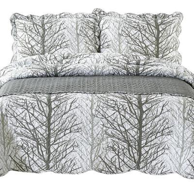 Quilt con Piecera Forest King